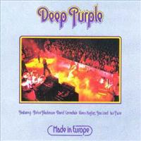 DEEP PURPLE - Made In Europe CD