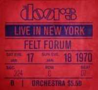 DOORS - Live In New York CD