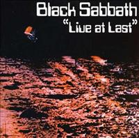 BLACK SABBATH - Live At Last LP