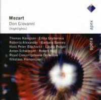 MOZART, W.A. - Don Giovanni -highlights-