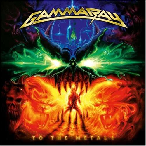 GAMMA RAY - To The Metal -cd+dvd-