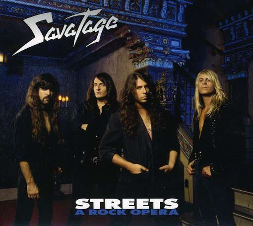 SAVATAGE - Streets And A Rock.. -digi-