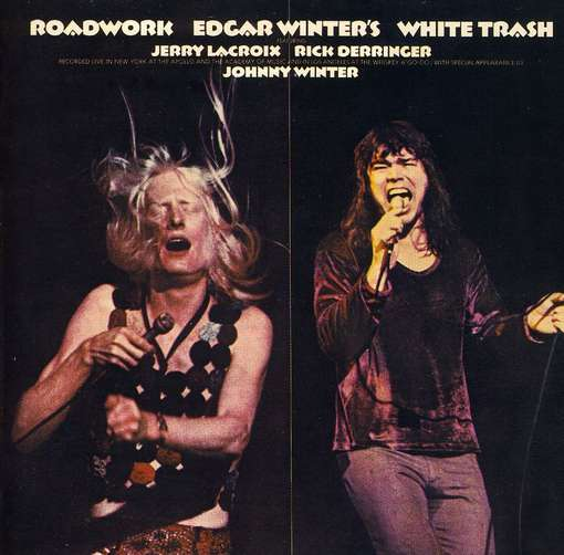 WINTER, EDGAR -WHITE TRAS - Roadwork Vinyl