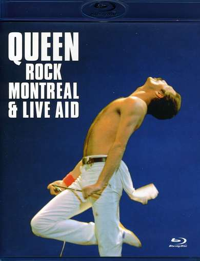 QUEEN - Rock Montreal-live Aid