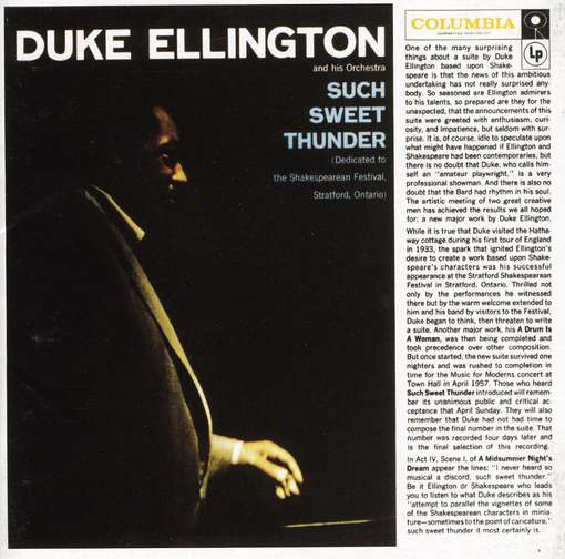 ELLINGTON, DUKE - Such Sweet Thunder CD