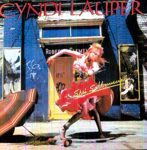 LAUPER, CYNDI - She's So Unusual CD