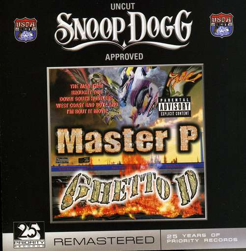 MASTER P - Ghetto D -remast-Master P Ghetto D
