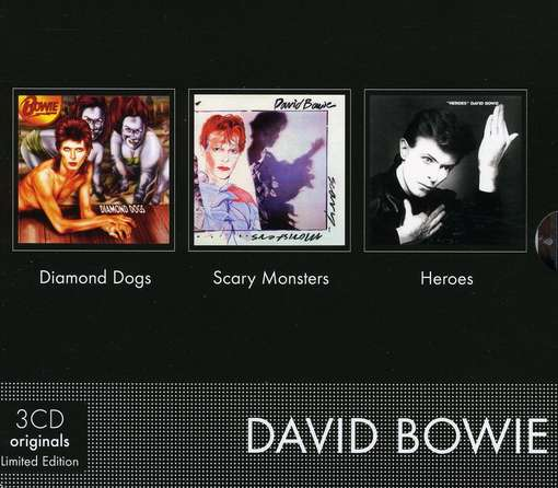 BOWIE, DAVID - Diamond Dogs-scary..