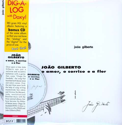 GILBERTO, JOAO - O Amor, O.. -lp+cd-