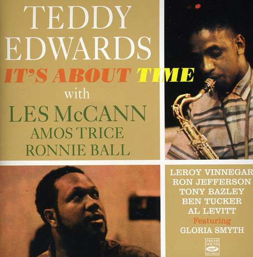 EDWARDS, TEDDY - It's About Time