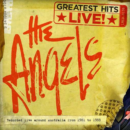 Greatest Hits Live - ANGELS